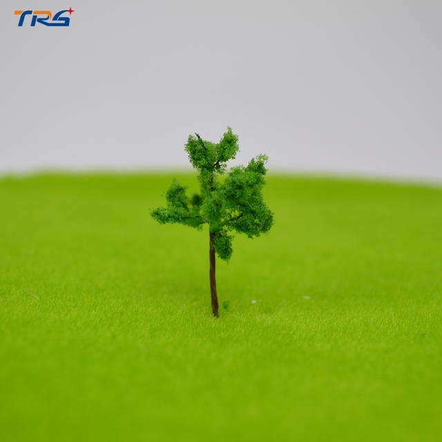 100X architectural wire tree model miniature model toy scale wire tree 35/17 sand table model building material tree layout