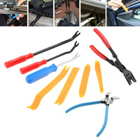 Mgoodoo Auto Fastener Removal Tool Car Door Panel Upholstery Engine Cover Fender Clips Repair Tools Installer Clip Plier tools