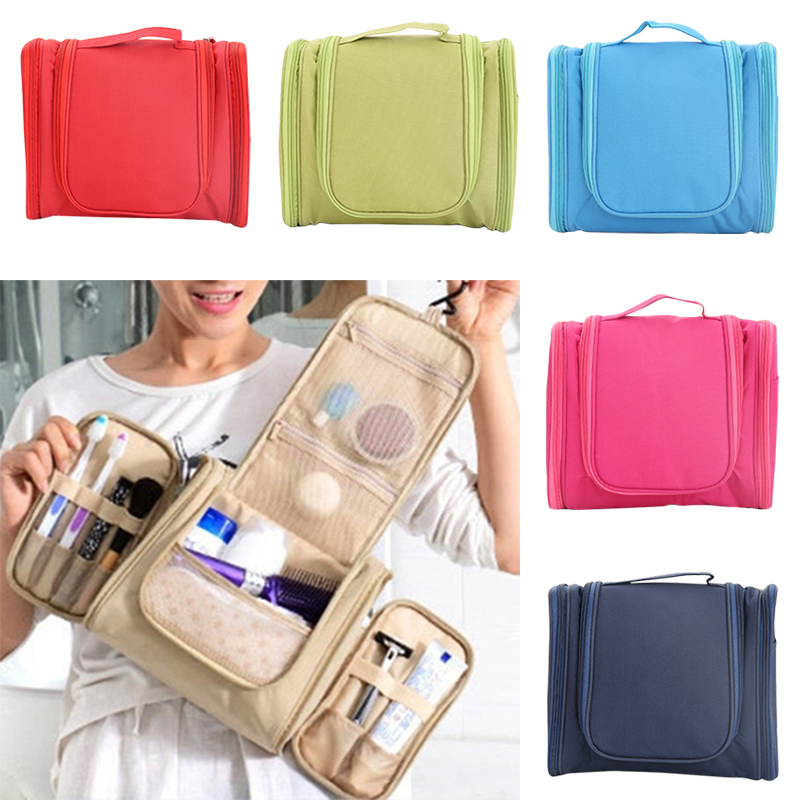 Travel Cosmetic Bags Toiletry Waterproof Wash Bag Travel Pouch Makeup Organizer For Men Women BS88 fashion travel cosmetic bag makeup case portable travel pouch toiletry wash organizer trousse de maquillage for