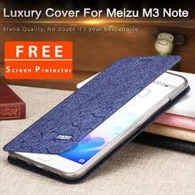 meizu m3 note cover silicon soft flip mofi fundas meizu m3note phone bag 5 5inch meizu