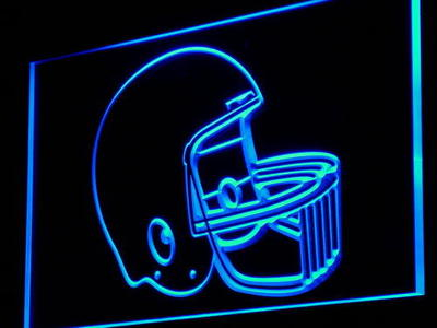 i902 Helmet Football Bar Pub Club Beer Light Sign On/Off Switch 20+ Colors 5 Sizes