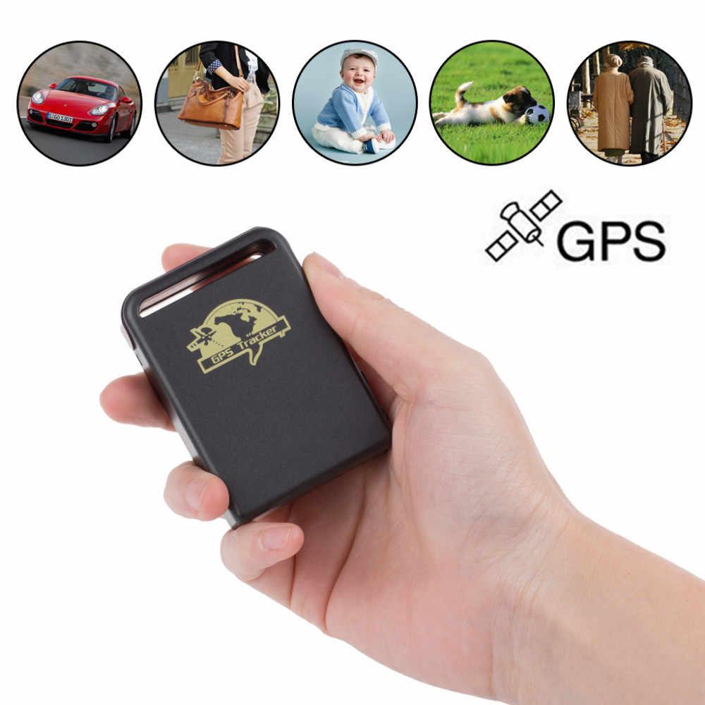 GPS-локатор для автомобиля GSM TK102B, автомобильный мини-локатор в режиме реального времени онлайн GSM GPRS, устройство слежения, GPS-трекер TK 102 для детей, автомобилей, домашних животных