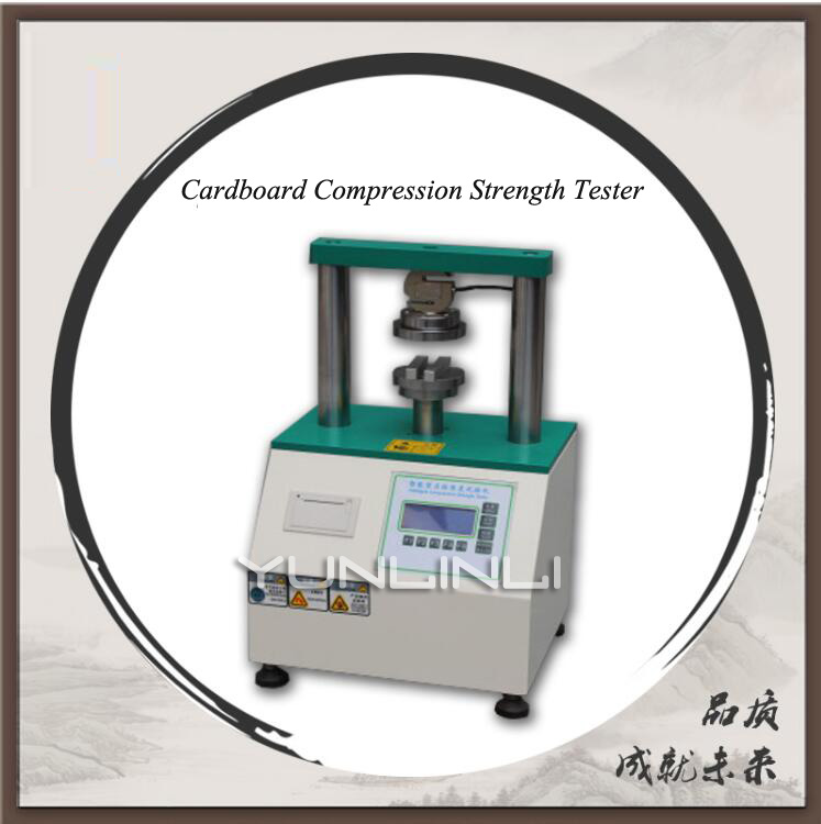 Intelligent Cardboard Compression Strength Tester Industrial Testing Equipment For Cardboard Edge Pressure & Bonding Strength