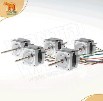 5PCS Nema 16 Stepper Linear Motor of 100mm Stoke Length 39BYGL215A,12VDC,0.4A,0.21Nm torque