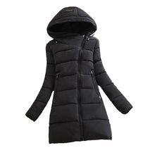 2016 new winter Cotton down jacket loose big yards was thin Medium long Women Korean fashion