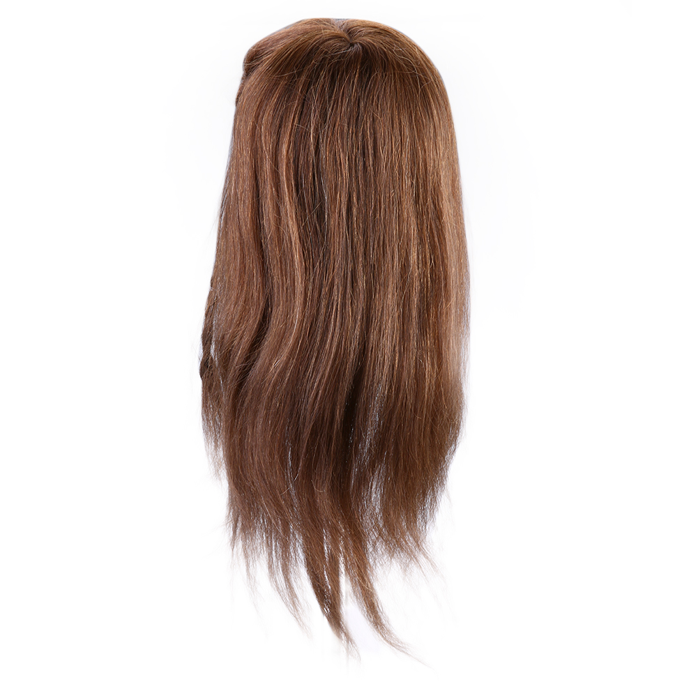 Professional Hairdressing Training Mannequin Practice Head Brown Long Hair Mannequin Heads Women for Hairdresser