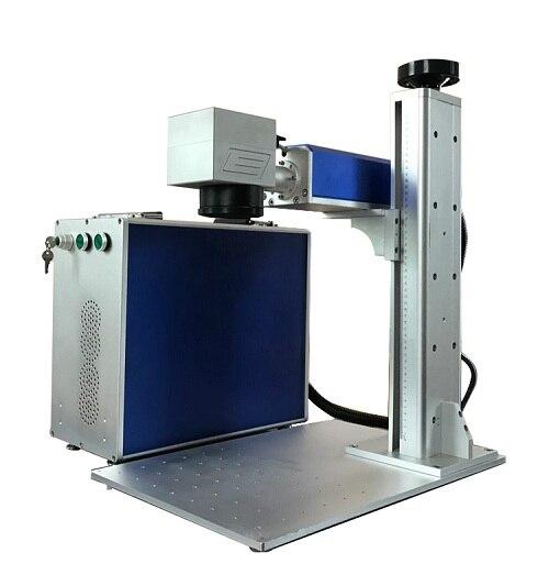 20 Вт отделяя волокна лазерная маркировка, лазерная машина Maker