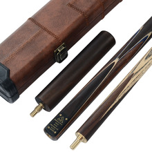 CUESOUL Handmade 58Inch 3/4 Piece Snooker Cue + Extension&Cue Case High Quality