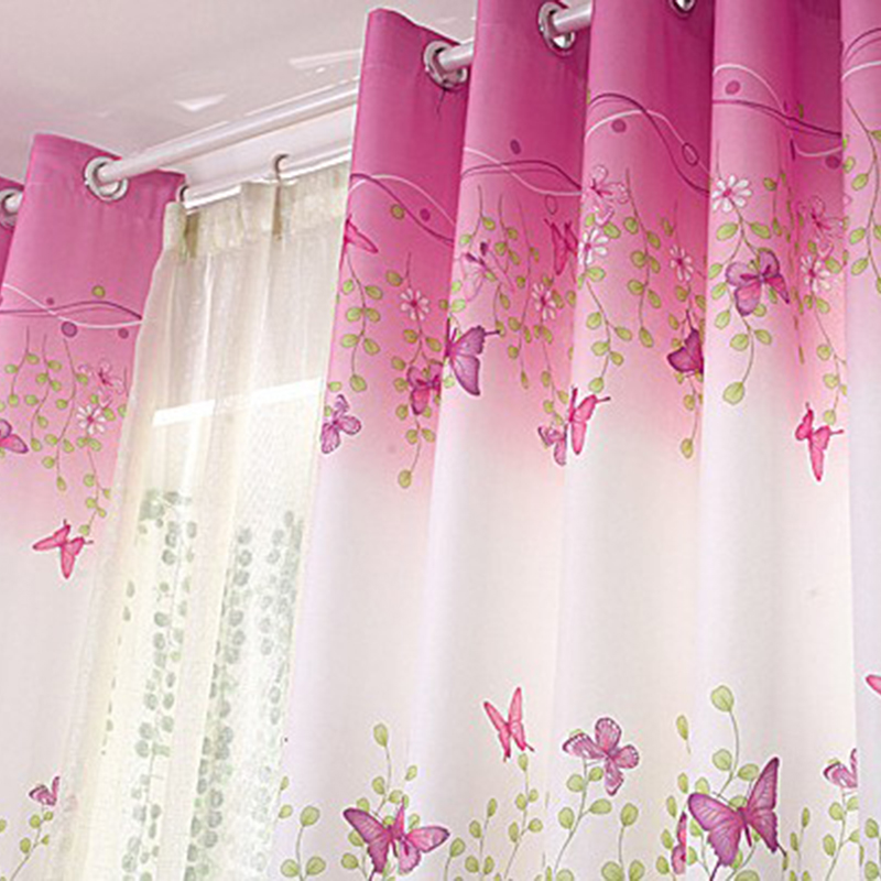 New Traditional Chinese Floral Printed Curtains
