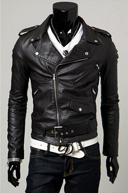 Spring autumn 2017 new men s leather jacket men leather bomber biker leather jackets for men