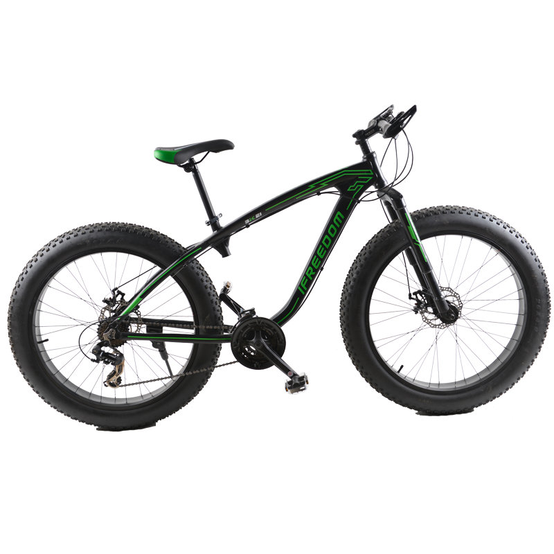 Fat Bike 26 Inch Aluminum Alloy 24 Speed Snow Bike 26 4 0 Super Wide Tire