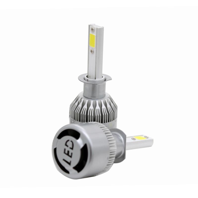 2 Pçs / par 7600LM 72 W Carro de Alta Potência LED Lâmpada de - Faróis do carro - Foto 6