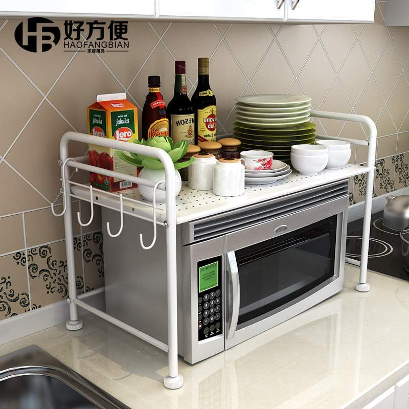 Metal Rack Microwave Shelf Oven Stand Kitchen Rack Storage Spice Rack  Accessories Storage In Storage Holders U0026 Racks From Home U0026 Garden On  Aliexpress.com ...