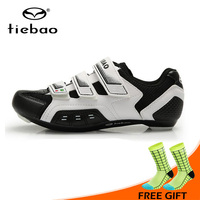 Tiebao New Self locking Road Cycling Shoes Men Women Ultralight Non slip Bike Bicycle Shoes Sport Sneakers Zapatos de ciclismo