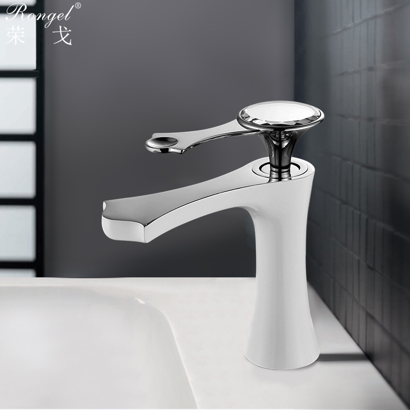 Antique Basin Faucets Brass Brushed Silver Faucet For Kitchen Ceramic Single Handle Hole Sink Mixer Tap Hot Cold Deck Mounted antique ceramic brass hot and cold water kitchen faucet mixer tap single handle deck mounted dathroom basin vessel sink faucet