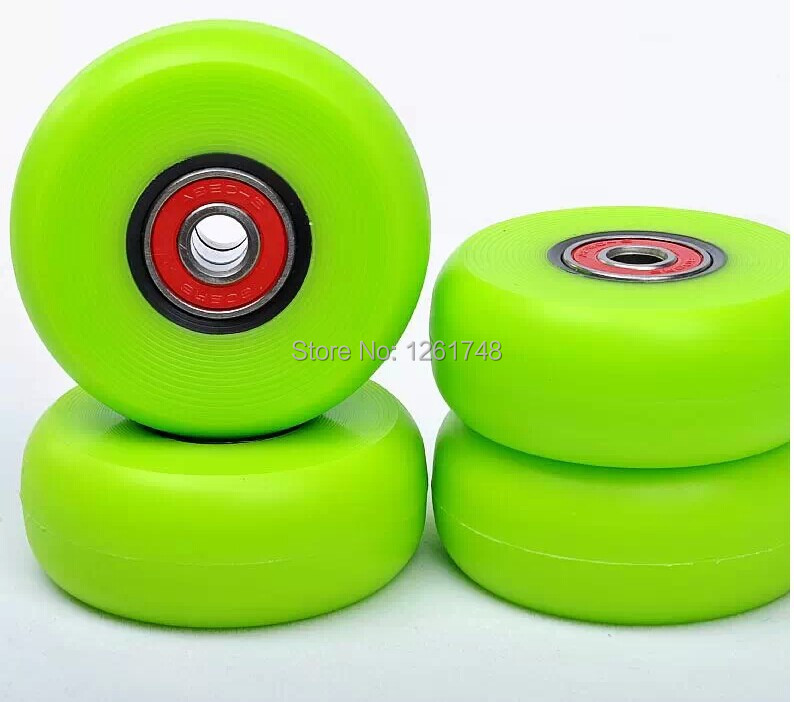 4 Stunt Street Style Skate Wheels / Brake Drift Wheels 60 * 24 Mm 94A