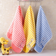 25x50cm The deer cotton child towel Hand Towel wholesale Home Cleaning Face for baby Kids High Quality Bath Set