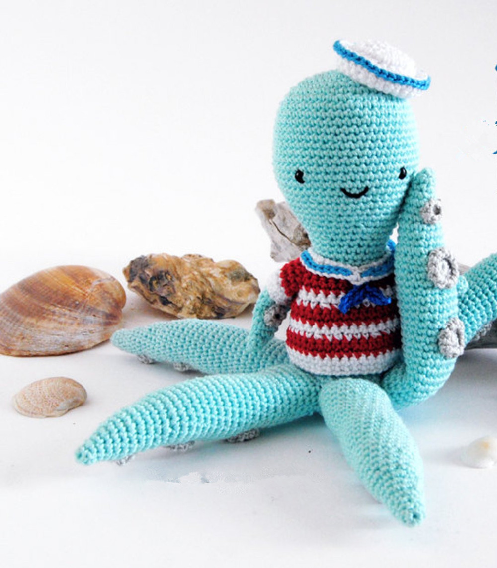 How To Crochet a Mini Amigurumi Octopus - DIY Crafts Tutorial ... | 1143x1000