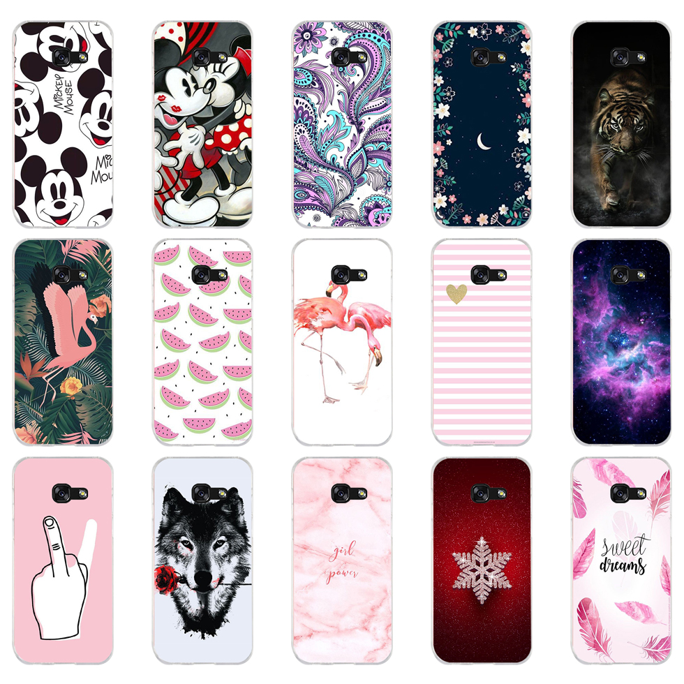 D Cool Fashion Cover Cases For Samsung Galaxy A3 2016 A310 A310F Soft Silicone TPU Phone Case For Samsung A3 A 3 2016 Back Cover