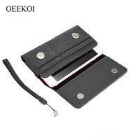 Lichee Pattern Card Slots Holder Pouch Case For Doogee BL5000 X30 Shoot 1 Y6C Y6 5