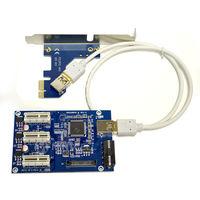 PCI E 1 To 3 PCI E PCI Express 1X 1 To 3 Port 1X