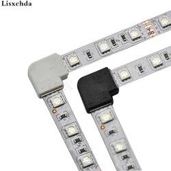 5 шт./лот, двухштырьковый разъем для светодиодной ленты, 8 мм, 10 мм, быстрый разветвитель, угловой разъем под прямым углом для одноцветной свет...