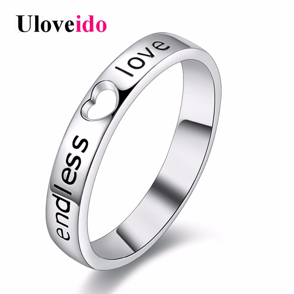 Heart Male Ring for Men Jewelry Bague Bijoux Love Anillos Wedding Engagement Rings Man Fianit Marriage Size 11 Uloveido J205