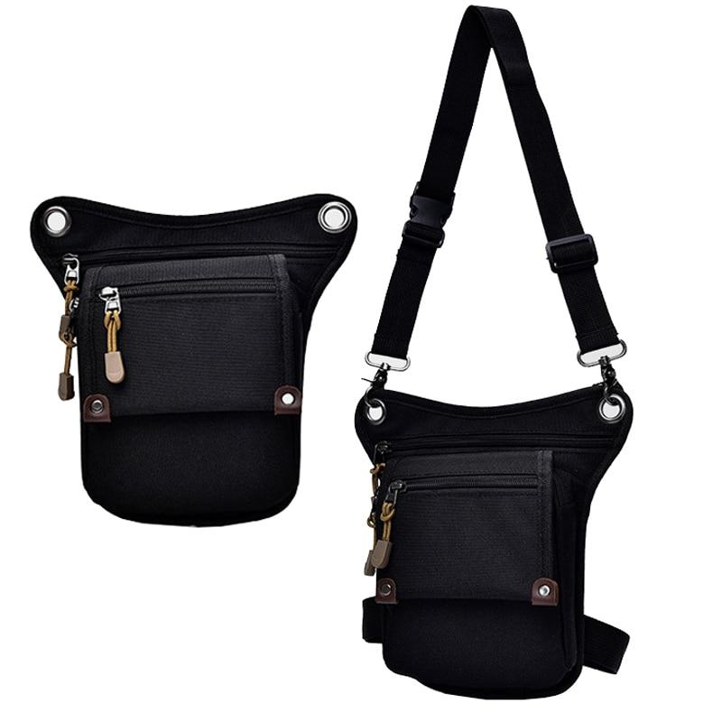 Nylon Camouflage Leg Bag Fashion Men Waist Bags New Unisex Tactical Waist Belt Pack Handy Leg Fanny Pack Male Hot Hip Hop Pocket