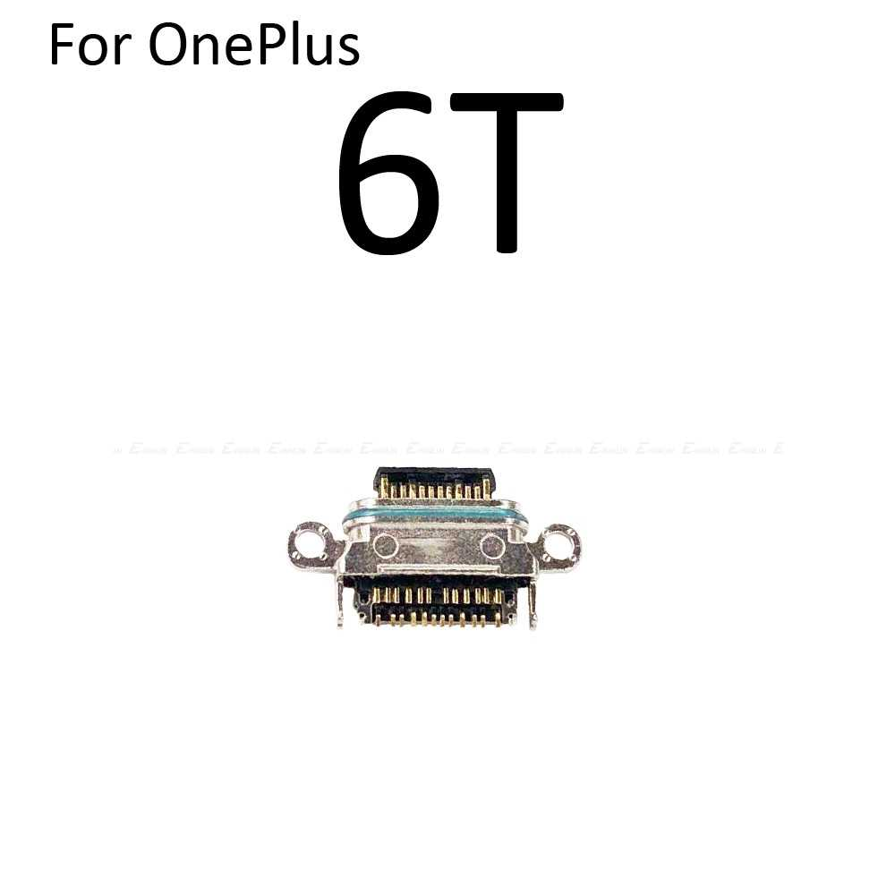 Novo tipo c micro usb tomada de carga porto de carregamento para oneplus x 1 2 3 t 5 5 t 6 6 t 7 pro conector de carga de energia