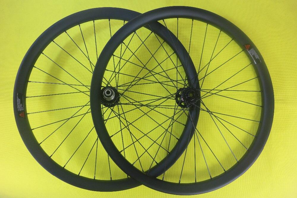 455ed8fd53c Speedsafe 650B MTB AM ENDURO BOOST mountain bike carbon wheelset 50mm width  hookless 30mm depth front 15*110mm rear 148mm wheels