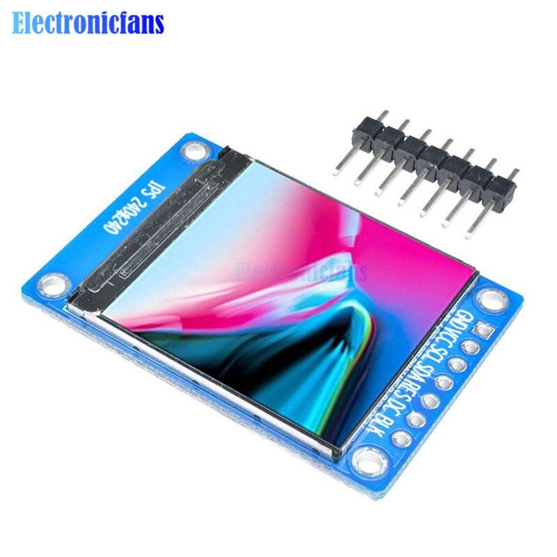 1.3 polegada 240*240 ips tela st7789 unidade ic spi comunicação 3.3 v tensão spi interface de cor cheia display oled lcd