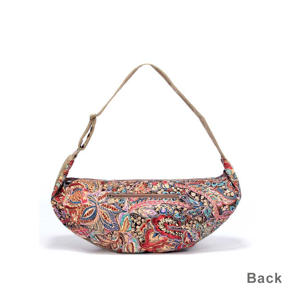 de9e43b62e6a 2017 New Canvas Women Shoulder Messenger Bag for Girls Ladies Zipper  Shoulder Folk Style Printing Pillow Crossbody Hobos Handbag-in Shoulder Bags  from ...