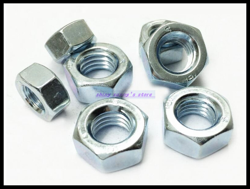 Metric Thread M2 M2.5 M3 M4 M5 M6 M8 M10 M12 M14 M16 M18 M20 M22 M24 Zinc Plated Steel Hexagon Nut Screw Nut Brand New 10pcs din582 m3 m4 m5 m6 m8 m10 m24 304 stainless steel marine lifting eye nut ring nut thread hw108