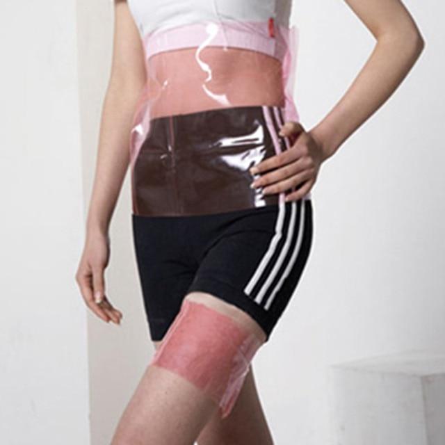 2019 Hot droppshiping Sauna Firm Slimming Belt Waist Wrap Shaper Tummy Belly Burn Fat Lose Weight Slim Trimmer Shaper MFJ99 2