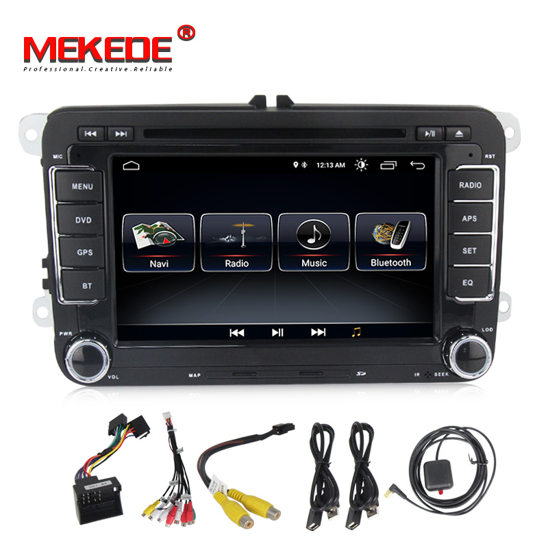 Lecteur Autoradio multimédia voiture MEKEDE Android 8.1 Autoradio pour Golf/6/Golf/5/Passat/b7/cc/b6/SEAT/leon/Tiguan/Skoda/Octavia - 6