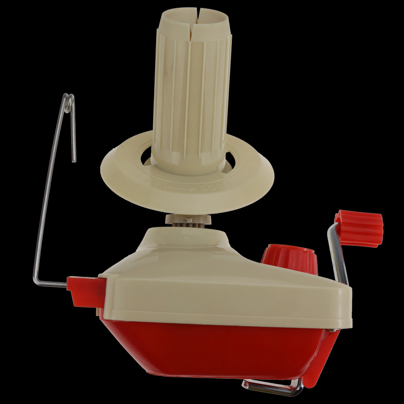 Yarn Wool String Thread Winder Hand Operated Tools with 30pcs Bobbins Holder