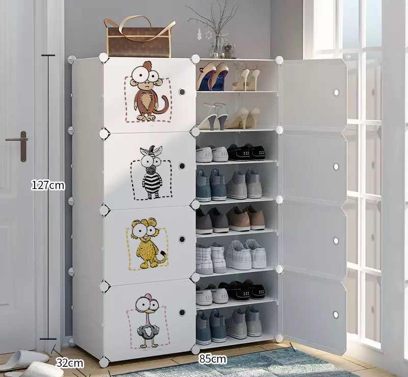 Стеллаж для обуви толстый стабильный экологически чистый высококачественный шкаф для обуви Органайзер стальной каркас расширяемый шкафчик для обуви хранения обуви