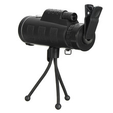 Promo offer High Quality 40×60 HD Monocular BAK-4 Prism With Tripod Camera Lens Clip For Hunting Bird Watching Photographing Telescope