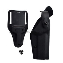 Military Gun Holster Tactical Colt 1911 Carry Flashlight Waist Pistol Belt Hunting Combat Right Hand Case