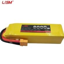 лучшая цена 5S 18.5V 6000mAh 40C Lipo Battery For Helicopter Drone Car Quadcopter Airplane Remote Control Toys Lithium Polymer  #20B14