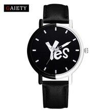 Gaiety Brand Female Fashion Casual Leather Strap Watch Ladies Wristwatch Casual Sport Women Fashion Luxury Watch Quartz Clock
