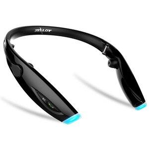 Image 3 - Gorliwy H1 wodoodporna Pieghevole słuchawki bezprzewodowy zestaw słuchawkowy audifonos fone Stereo Bluetooth Sportivo zestaw słuchawkowy HiFi Led spinki do mankietów