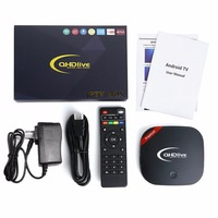 Quad Core 32 Bit Smart TV BOX ROM 16GB RAM 8GB HD Movie WIFI Network Player