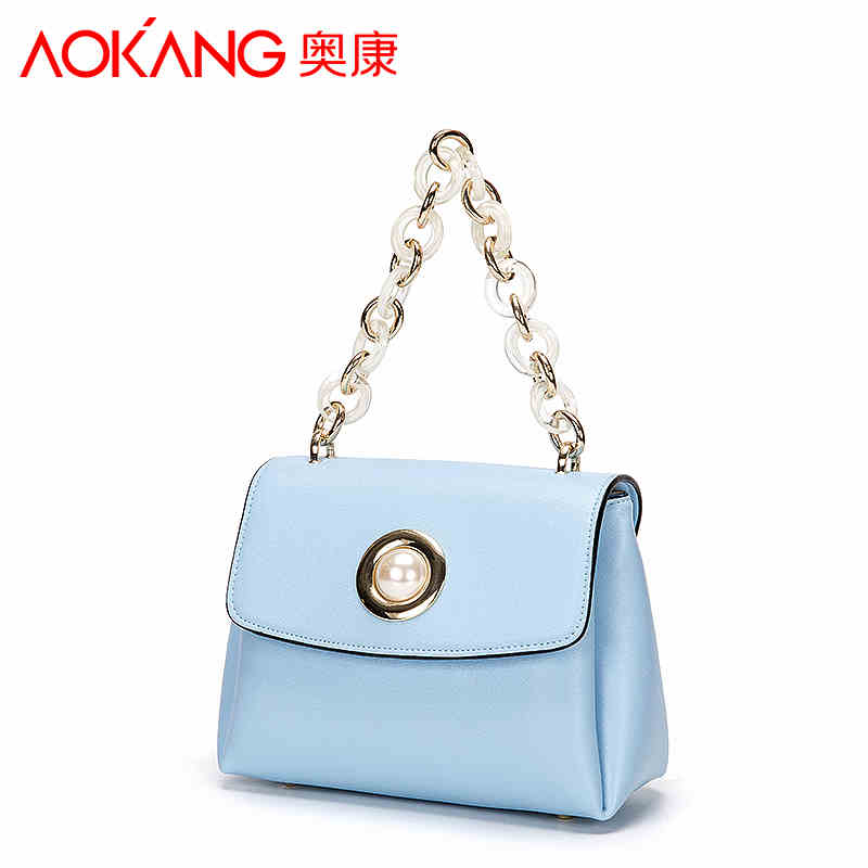 Aokang 2017 new arrival lady handbag one shoulder women bags Euramerican style fashion pattern female handbags new arrival ship pattern design brooch for female