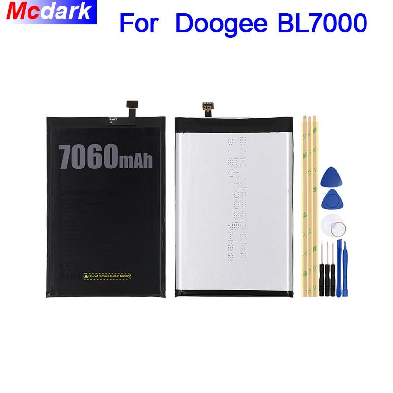 Mcdark 7060 mAh batería para Doogee BL7000 batería acumulador de AKKU ACCU PIL teléfono móvil con herramientas