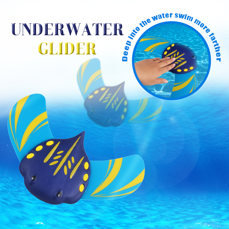 Underwater Glider Leisure toy Manta Ray Water Toys Rely on Water Pressure can Swimming In the