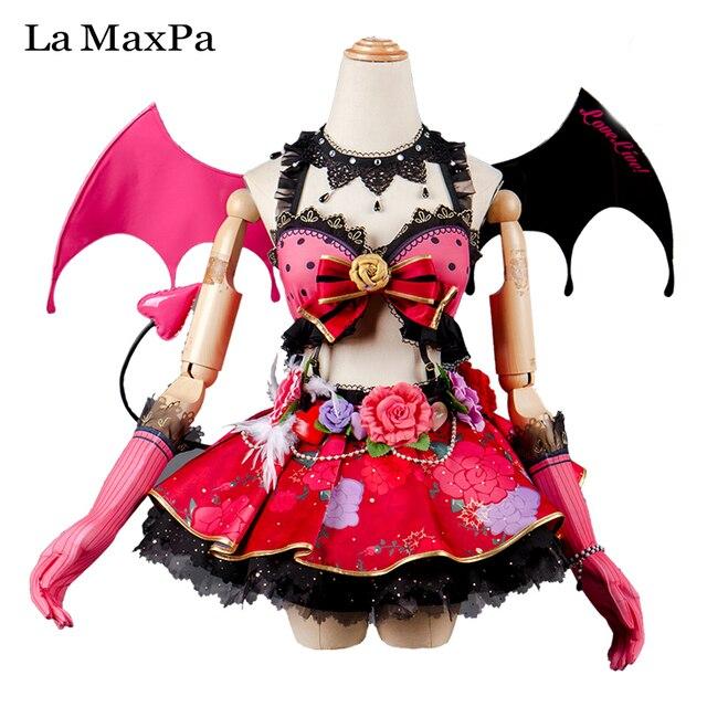 La MaxPa Lovelive Love Live Awakening Koakuma Eli Ayase Cosplay Japanese Anime Clothing Girls Women