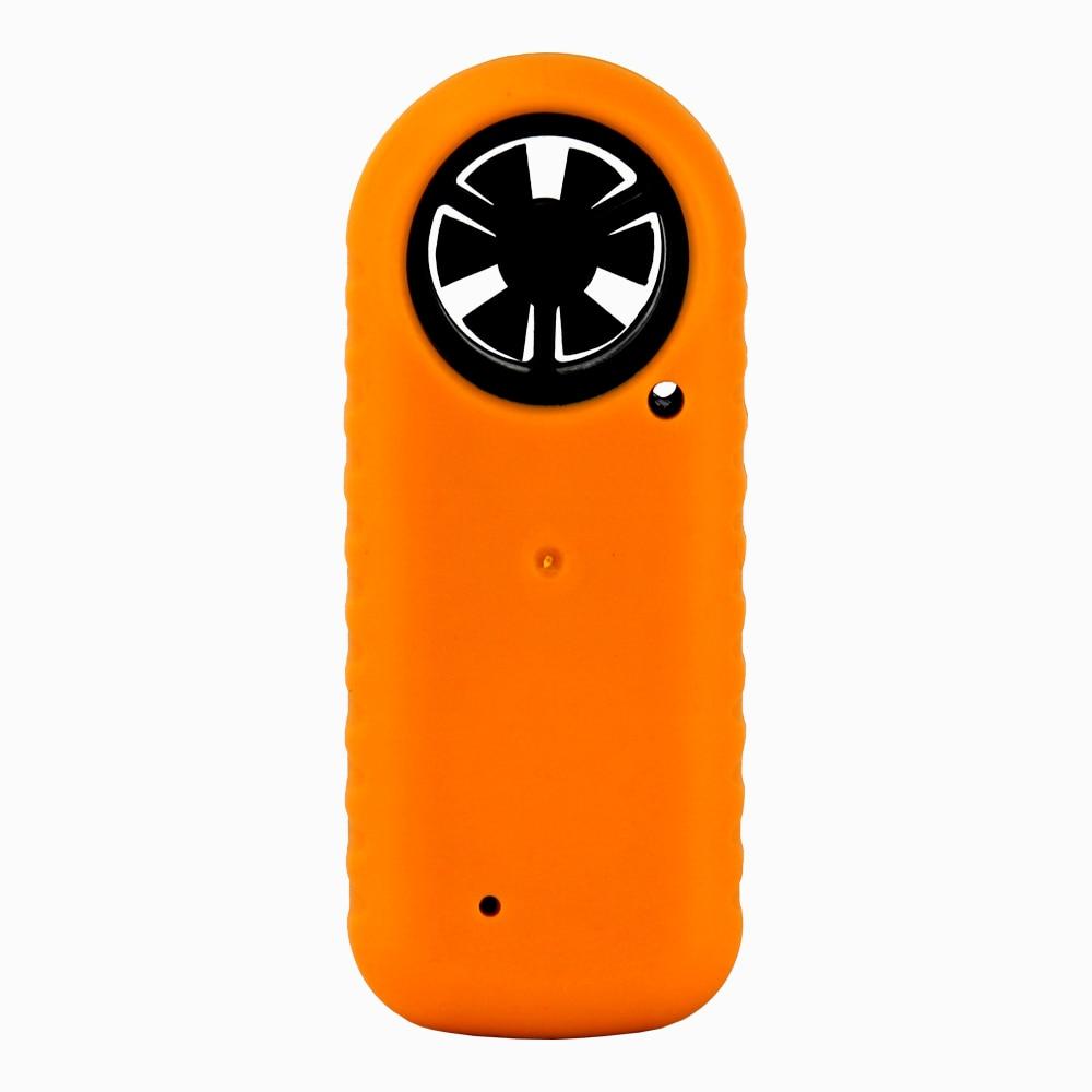 Medidor de velocidad de viento portátil Anemómetro Termómetro - Instrumentos de medición - foto 2