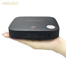 amoudo intel core i5-4200U 8gb ram+64gb ssd+500gb hdd windows 10 system ulrathin i5 4k mini pc desktop for office home school
