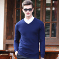 2017 Autumn Winter Men Sweaters and Pullovers Wool Long Sleeve Casual Sweater Knitted  Pullover Sweater  MKY075